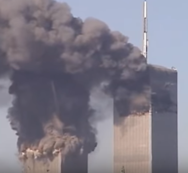 North tower collapse initiation