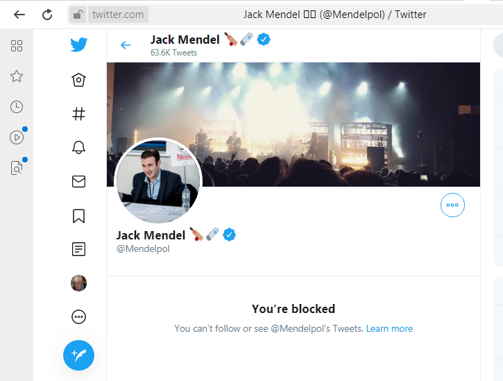 Jack Mendel you are blocked