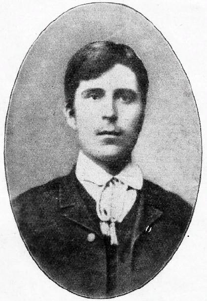 Prokhanov as a young man