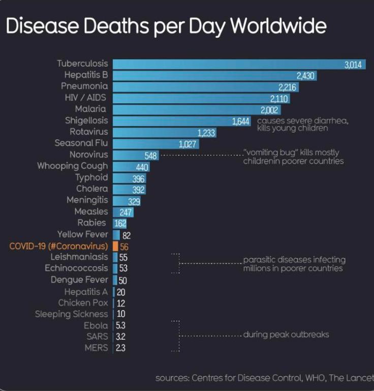deaths worldwide all causes